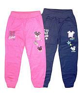 Трикотажные спортивные брюки для девочек, Grace, размеры 98,104,110,116,122,128, арт. G60474