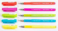 "Ручка шариковая ""1 Вересня"" масляная синяя 0,7мм ""Touch Colours"" 411666"