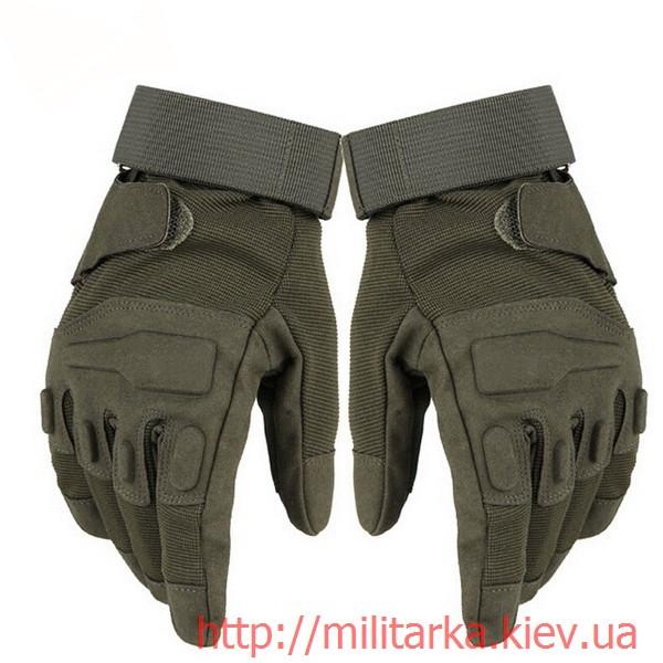 Тактические перчатки Blackhawk olive полнопалые
