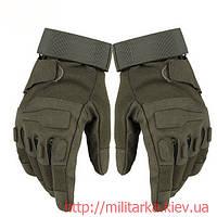Тактические перчатки Blackhawk olive полнопалые , фото 1