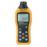 Бесконтактный фото-тахометр HYELEC MS6208B (50 - 250 мм) 50-99999 RPM, память 100 групп