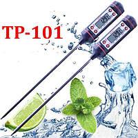 Цифровой термометр со щупом-иглой TP-101 (черный)