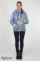 Куртка демисезонная для беременных Floyd (голубая+звездочки)