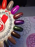 Гель-лак My Nail №168 (фіолетовий з шиммером) 9 мл, фото 4