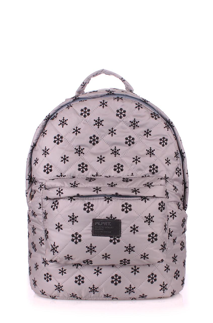 ca360f9f4cdb Рюкзак стёганый POOLPARTY снежинка от интернет-магазина