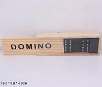 Домино B15623 в деревянном футляре 15*3*4см