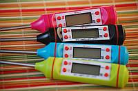 Цифровой термометр со щупом-иглой TP-101 (цветные)
