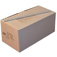 Пружины пластиковые 16 мм белые, 100 шт/уп., 120-135 листов.