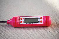 Цифровой термометр со щупом-иглой TP-101 (цветные) Розовый