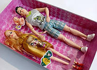 Ляльки Папа Мама і Дитина малюк вагітна лялька сім'я гра іграшка, фото 1