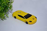"""Зажигалка """" Машинка Ferrari"""" желтая."""