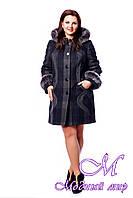 Женское батальное зимнее пальто с капюшоном (р. 50-64) арт.717 Ban 600 Fanci Тон 15