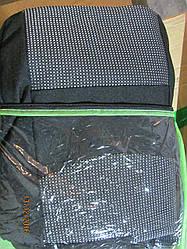 Чехлы на ВАЗ 2108-21099 2109 2113 2114 2115 черные с серыми вставками