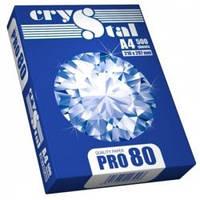 Бумага для ксерокса А4(500 листов) 80гр/м2 Crystal Pro