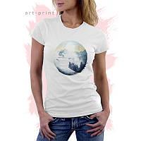 Женская футболка SKIER, фото 1