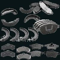 Тормозные колодки Expert / Scudo / Jumpy 95-06