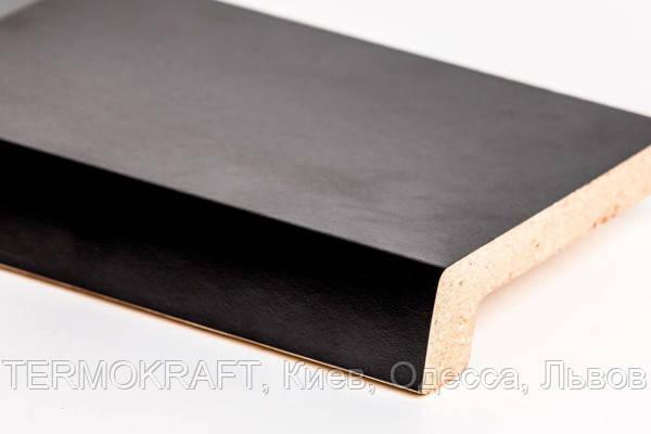 Подоконник Topalit Черный (407) 450 мм