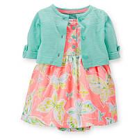 Платье-боди с болеро Carters девочка (121d224)