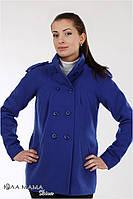 Полу-пальто для беременных Mirta (Синий электрик)