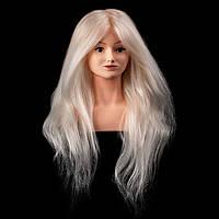 Учебная голова-манекен Alyssa с плечами, 75-80см