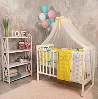 Набор в детскую кроватку Baby Design весна (7 предметов)
