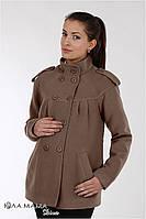 Полу-пальто для беременных Mirta (кофейный)