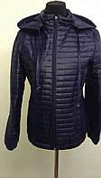 Куртка демисезонная стеганая с капюшоном 8090 (ВИВ)