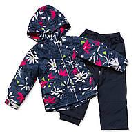 Демисезонный костюм для девочек Nano 256 M S17 Flower. Размер 74 - 132.