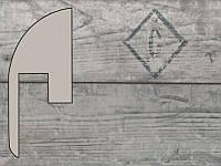 Плинтус Парадор ламинирован. SL2 Дуб Версаль антик выбеленный арт.1474164