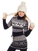 1148 - Платье-туника для девочек  Лапландия, Tashkan