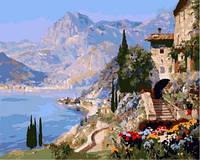 Картина для рисования по номерам Средиземноморский пейзаж