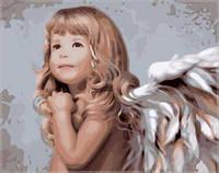 Картина для рисования по номерам Мой милый ангел