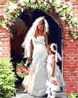 Картина для рисования по номерам Свадебный ангел Худ МакНейл Ричард