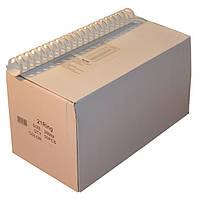 Пружины пластиковые 28 мм белые, 50 шт/уп., 220-240 листов.
