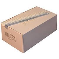 Пружины пластиковые 32 мм белые, 50 шт/уп., 240-280 листов.