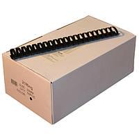 Пружины пластиковые 32 мм чёрные, 50 шт/уп., 240-280 листов.