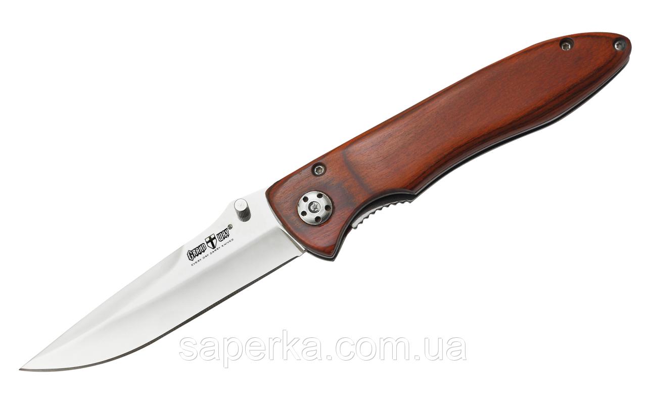 Нож складной для ежедневного ношения со съемной клипсой Grand Way 6232 PK