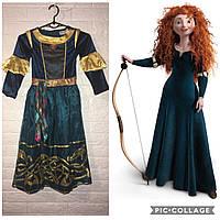 Платье принцессы Мериды (Храбрая сердцем)