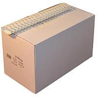 Пружины пластиковые 45 мм чёрные, 50 шт/уп., 340-410 листов.