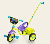 Детский трехколесные велосипед TNT0102 с родительской ручкой и мягкими колесами