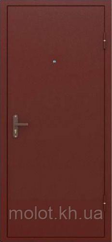 Двери входные металлические: Эконом-1