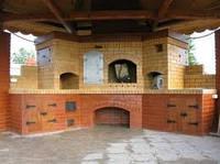 Варочный комплекс кладка из кирпича