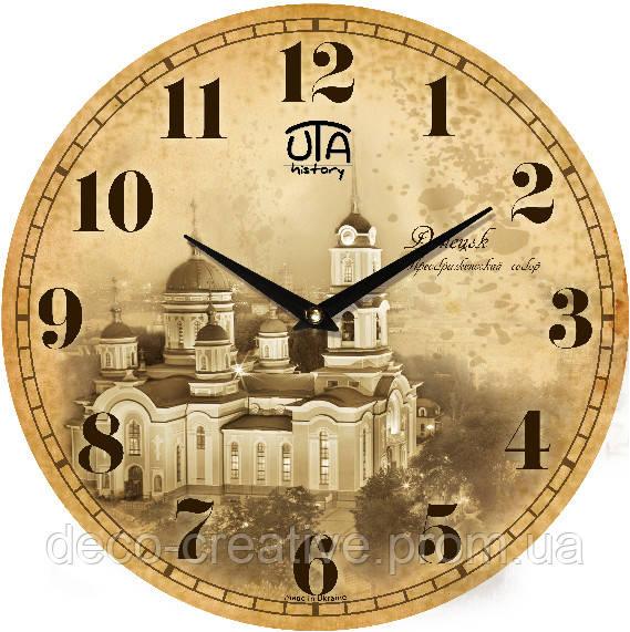 """Годинник настінний ЮТА """"History"""" 330Х330Х30мм"""