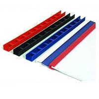 Пластины Press-Binder 10 мм. белые, уп/50 шт.
