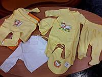 Комплект для новорожденных Бемби, желтый