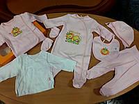 Комплект для новорожденных Бемби, розовый
