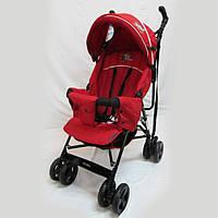 Прогулочная детская коляска-трость Sigma S-A-7C (PN) F. Красная
