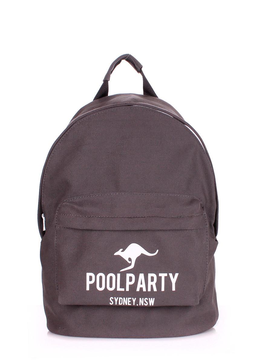 Рюкзак молодежный POOLPARTY серый