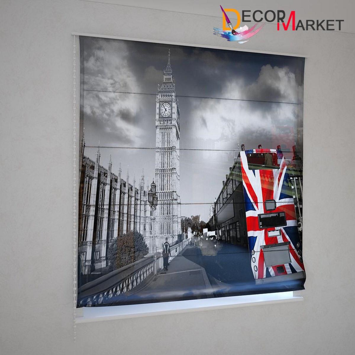Римские шторы Лондон