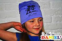 Детские шапки опт. Французский трикотаж.